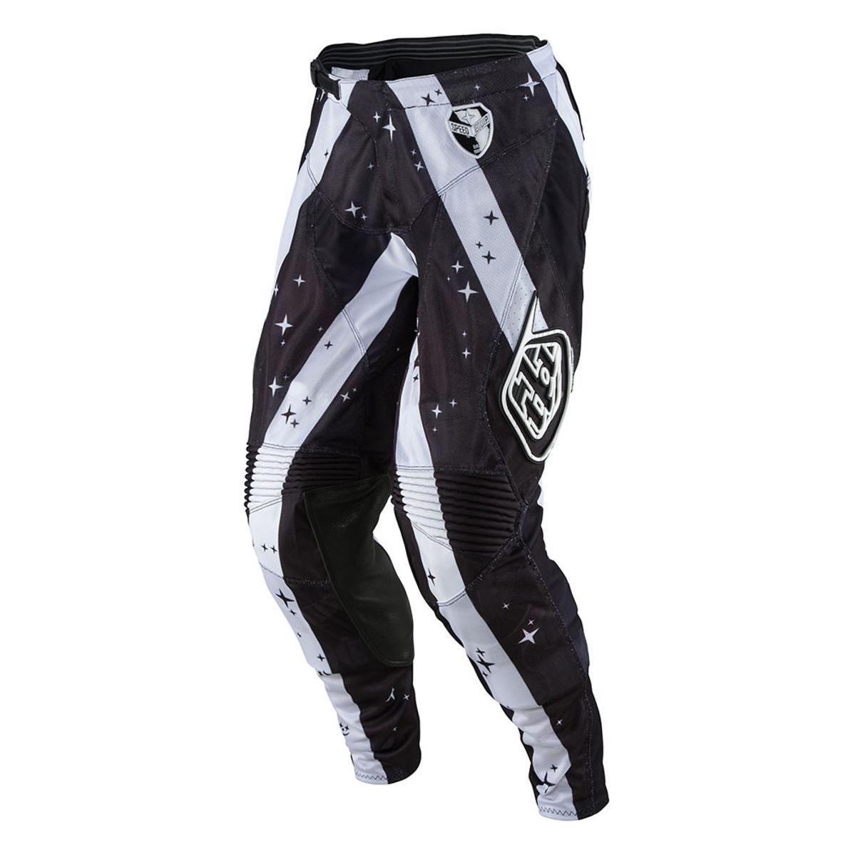 Troy Lee Designs SE Air Phantom Pants Troy Lee Designs SE Air Phantom Black and White