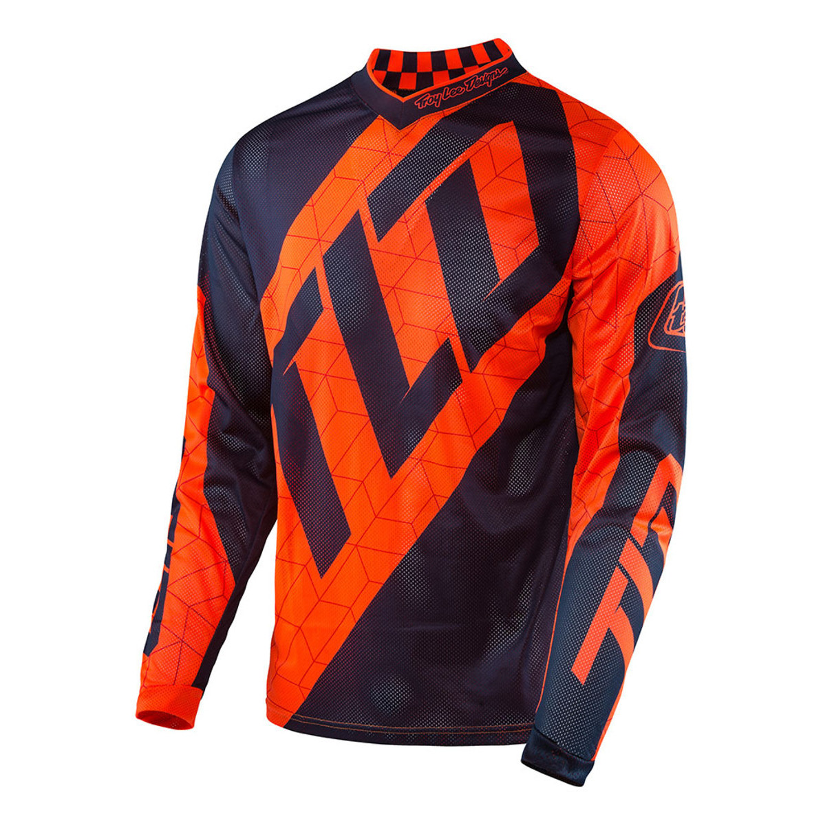 Troy Lee Designs GP Air Quest Jersey & Pant  Troy Lee Designs GP Air Quest Orange and Blue