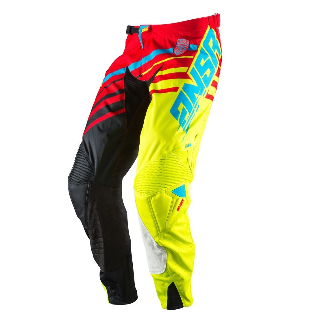 Answer Racing Alpha Pants Answer Racing Alpha Red and Black