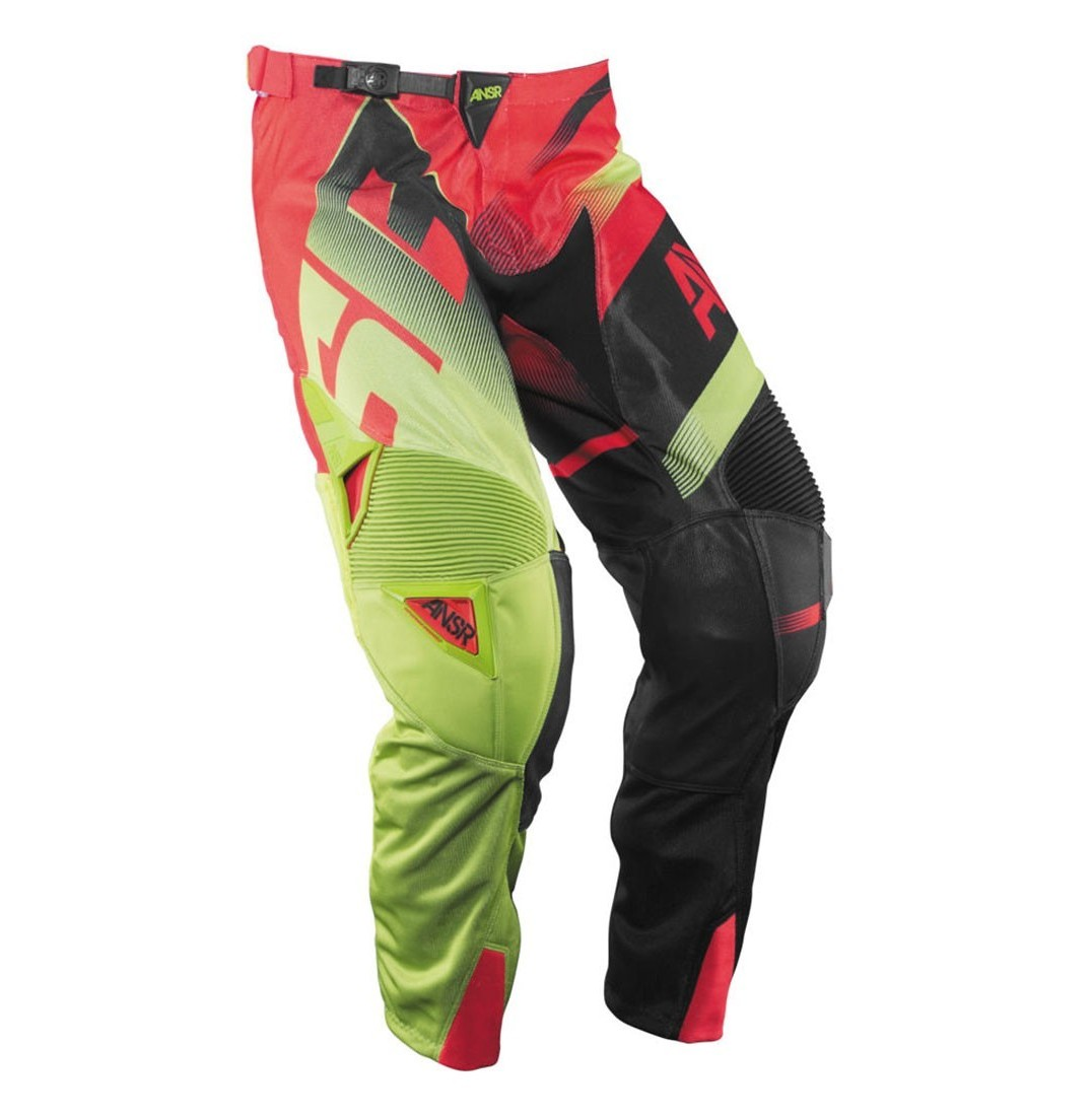 Answer Racing Alpha Air Pants Answer Racing Alpha Air Red and Yellow