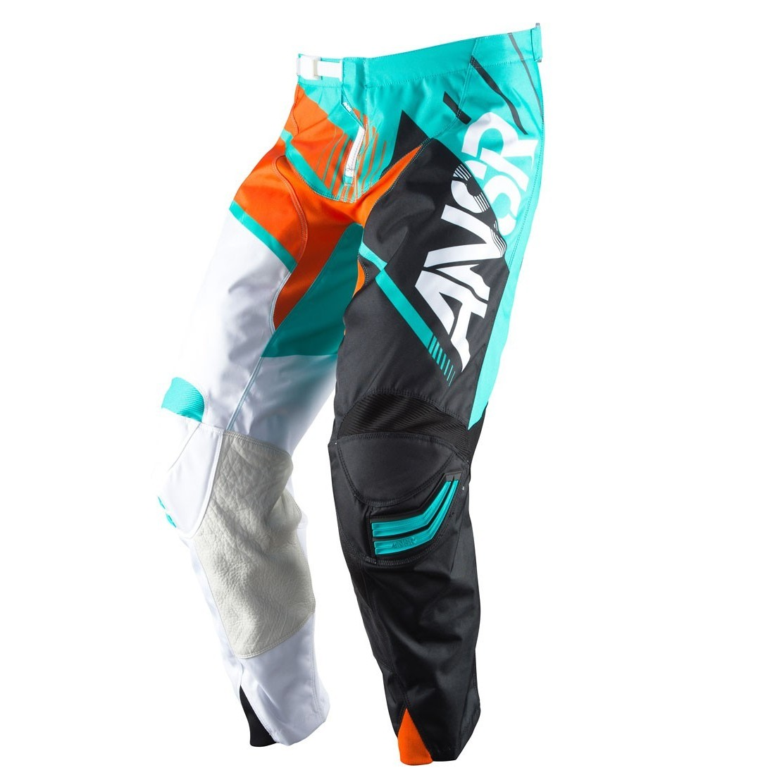 Answer Racing Elite Pants Answer Racing Elite Teal and Orange
