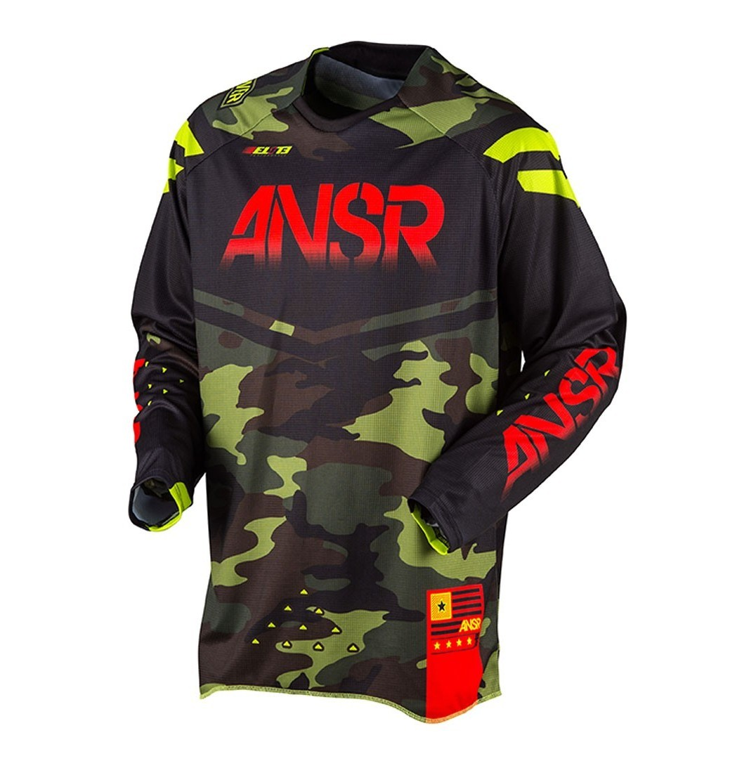 Answer Racing Elite Camo LE Jersey and Pant  Answer Racing Elite Camo LE