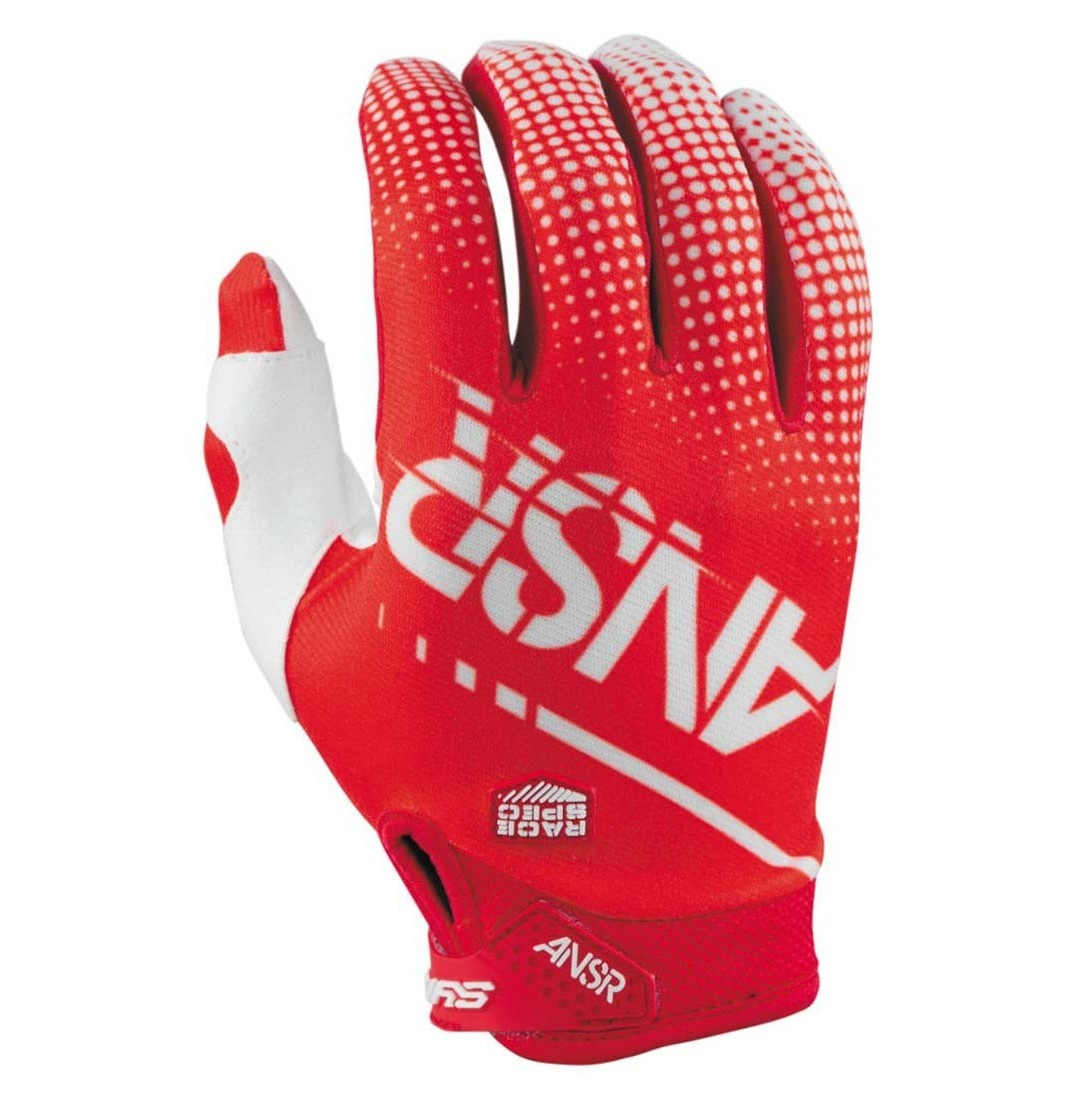 Answer Racing Syncron Air Gloves Answer Racing Syncron Air Red and White