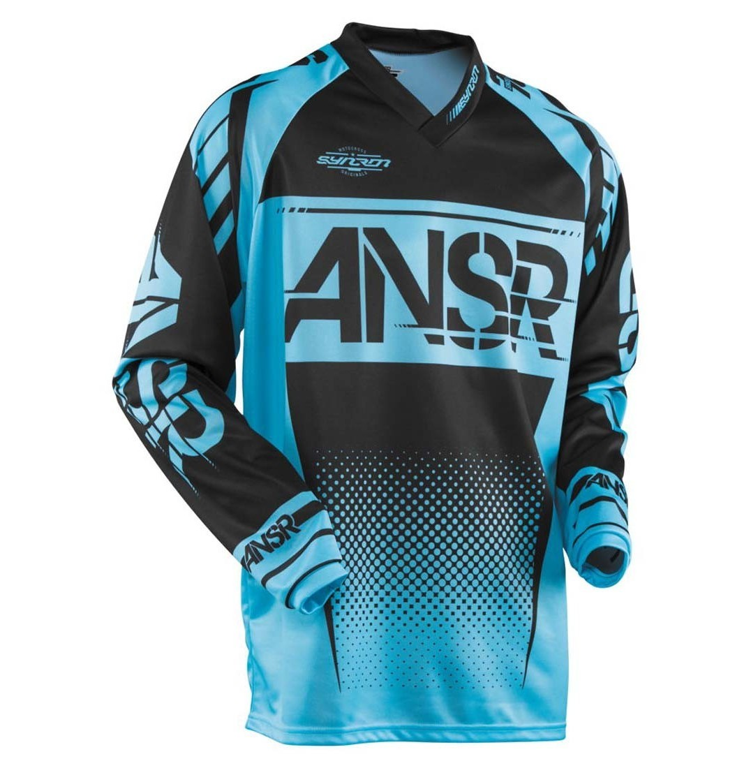 Answer Racing Syncron Jersey & Pant  Answer Racing Syncron Black and Blue
