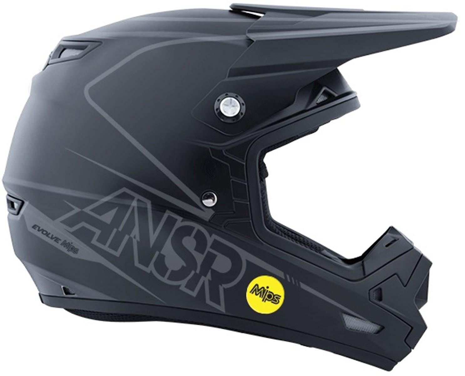 Answer Racing Evolve 3 Helmet Answer Racing Evolve 3 Black