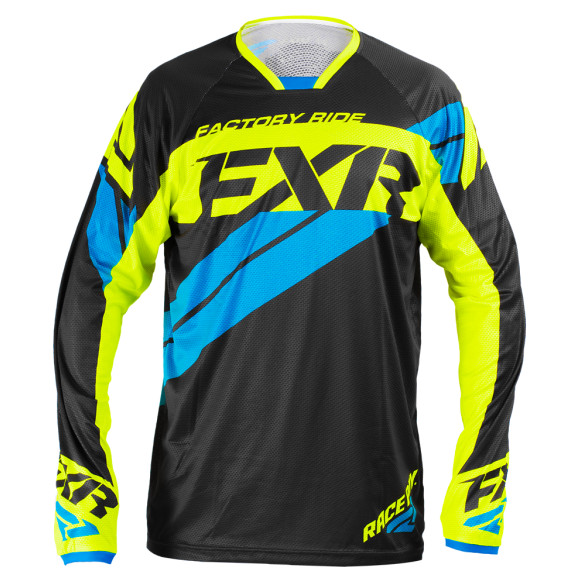 FXR Revo Jersey FXR Revo Black, Blue, and Yellow