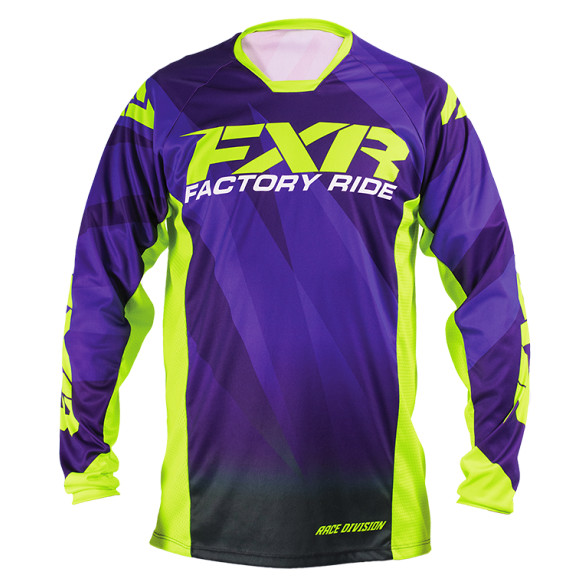 FXR Mission Jersey & Pant  FXR Mission Purple and Yellow