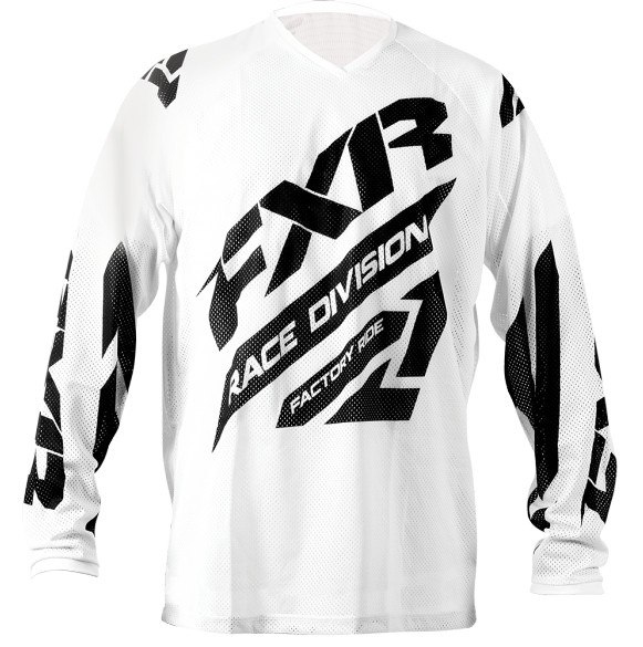 FXR Clutch Air Jersey FXR Clutch Air White