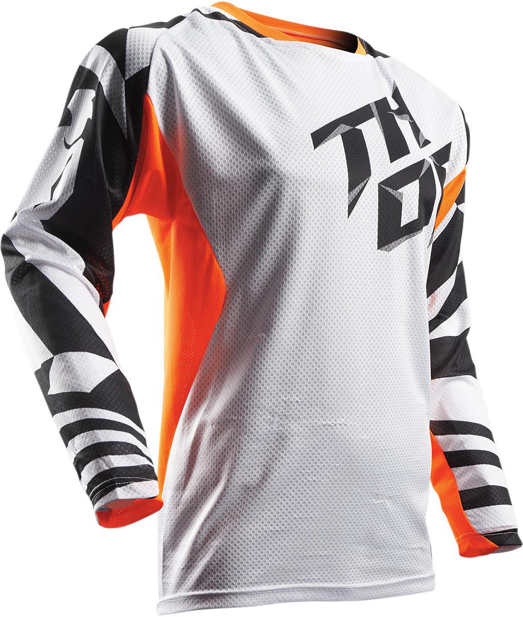 Thor Fuse Jersey & Pant  Thor Fuse White, Orange, and Black