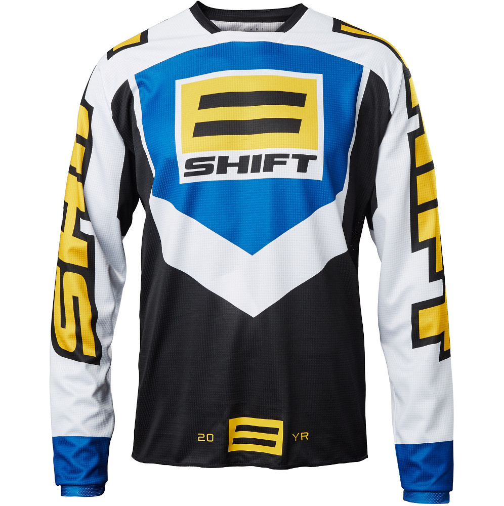 Shift MX Whit3 20 Year Throwback Jersey Shift MX Whit3 20 Year Throwback