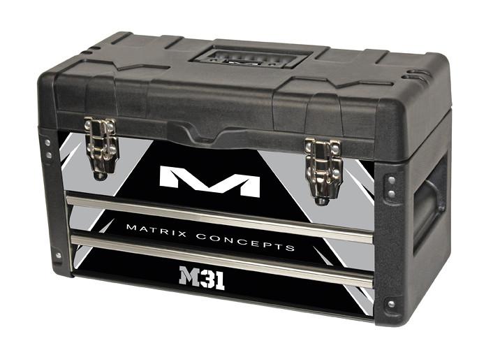 Matrix Concepts M31 Worx Tool Box   M31 Worx Bolt Grey 401