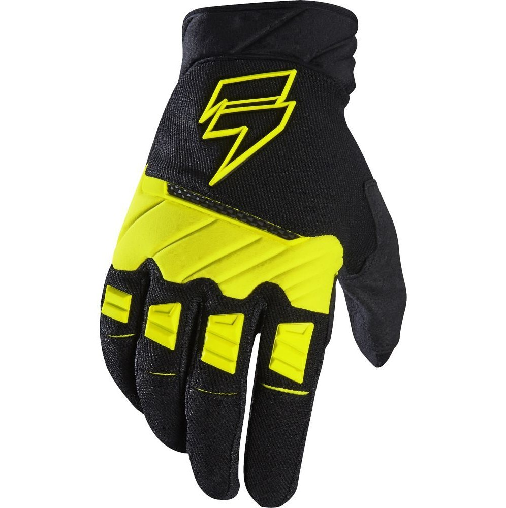 Shift MX WHIT3 Pro Gloves Shift MX WHIT3 Pro Black and Yellow