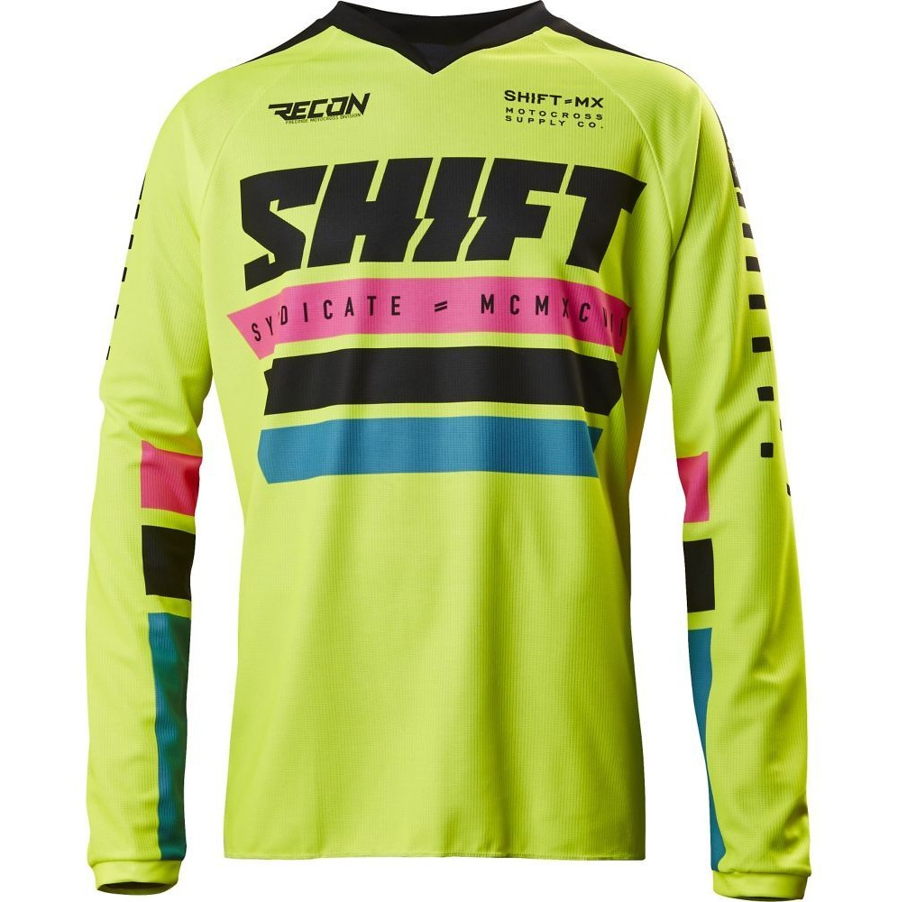 Shift MX Recon Phoenix Jersey & Pant  Shift MX Recon Phoenix Yellow