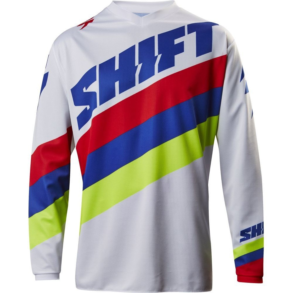 Shift MX WHIT3 Tarmac Jersey & Pant  Shift MX WHIT3 Tarmac White