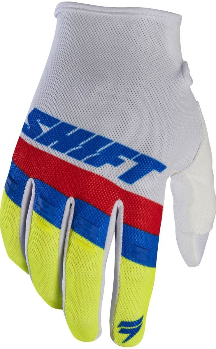 Shift MX WHIT3 Air Gloves Shift MX WHIT3 Air White