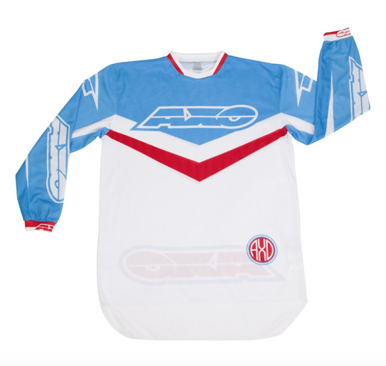 AXO Trans-AM Jersey & Pant  AXO Trans-AM Red and Blue