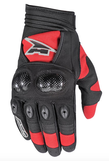 AXO ST-X Gloves AXO ST-X Red and Black
