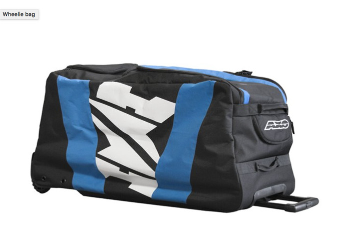 AXO Wheelie Bag  AXO Wheelie Black and Blue