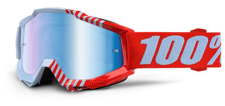 100% Accuri Goggles  100% Accuri Red