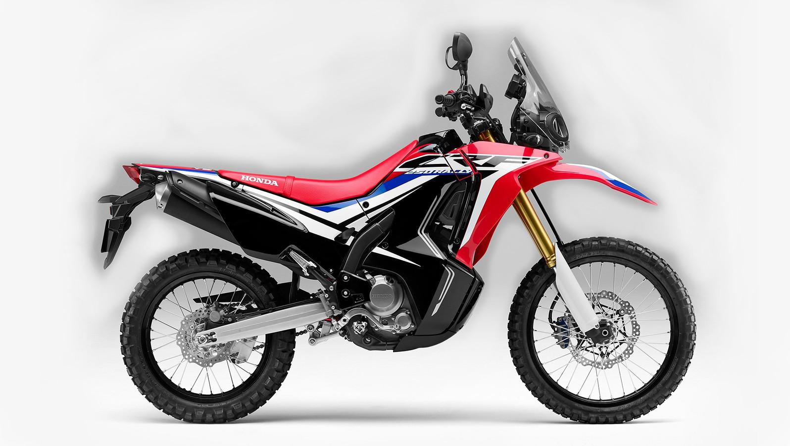 2017 Honda CRF250L Standard and Rally  2017 Honda CRF250L Standard and Rally