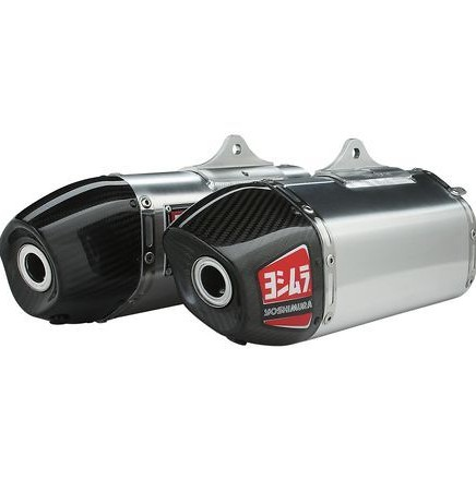 Yoshimura RS-9D Dual Exhaust with Stainless Header  Yoshimura RS-9D Dual Exhaust