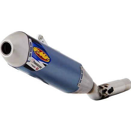 FMF Titanium Powercore HEX Slip-On Exhaust  FMF Titanium Powercore HEX Slip-On Exhaust