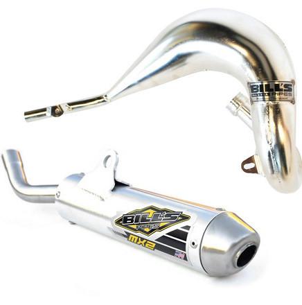 Bill's Pipes 2-Stroke Pipe & Silencer Combo  Bill's Pipes 2-Stroke Pipe & Silencer Combo