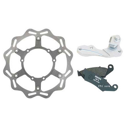 Braking W-FLO Oversized Front Brake Rotor Kit  Braking W-FLO Oversized Front Brake Rotor Kit
