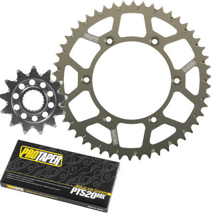 ProTaper Chain and Sprocket Kit  Pro Taper Chain and Sprocket Kit