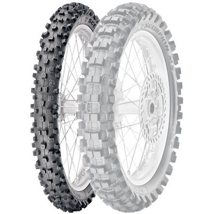 Pirelli Scorpion MX Extra J Front Tire Widely spaced blocks
