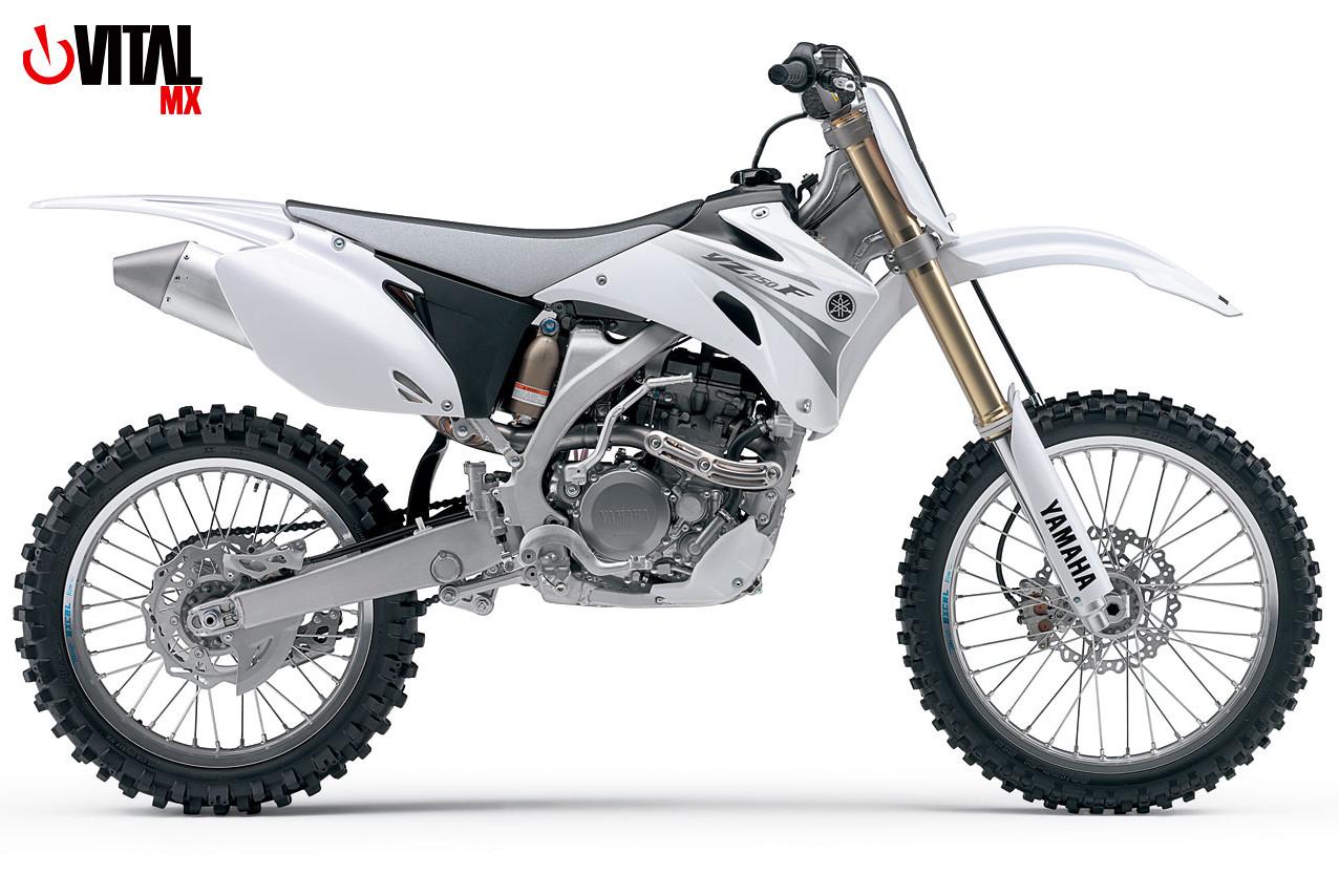 2007 Yamaha YZ250F (White)  2007 Yamaha YZ250F