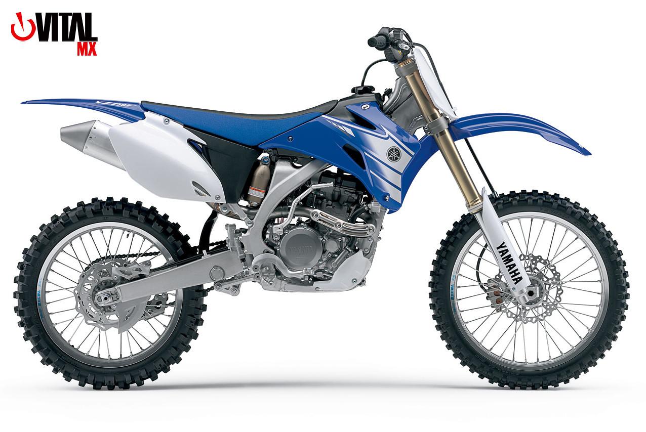 2007 Yamaha YZ250F (Blue)