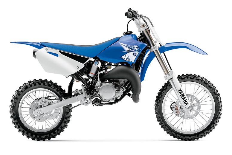 2011 Yamaha YZ85  11MS_YZ85_blu_S1_0627012a