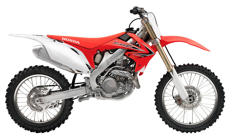 2012 Honda CRF450R  s1600_12_CRF450R_Red