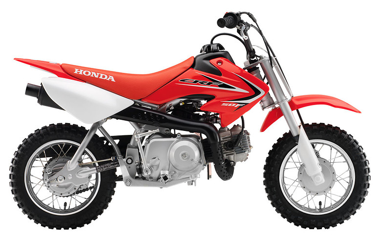 2012 Honda CRF50F  s1600_12_CRF50F_Red
