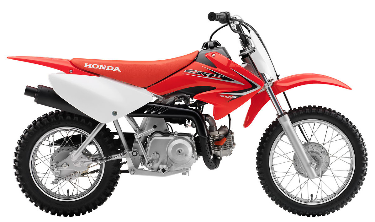 2012 Honda CRF70F  s1600_12_CRF70F_Red