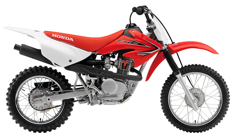 2012 Honda CRF80F  s1600_12_CRF80F_Red