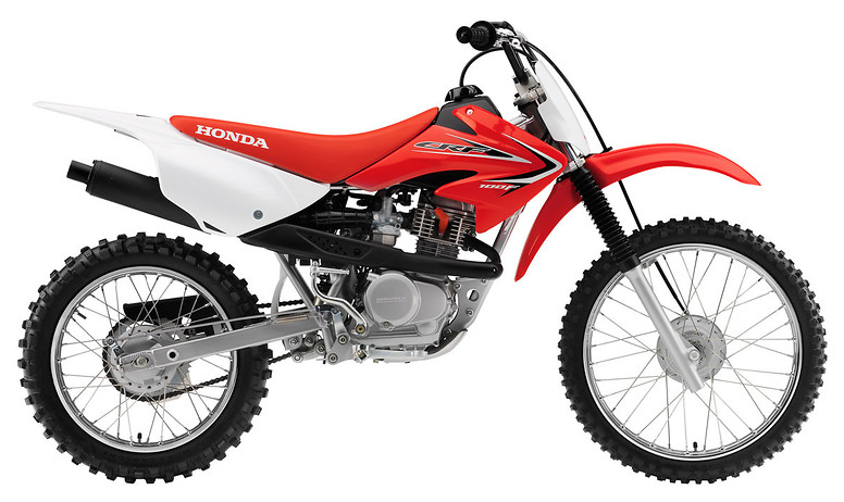 2012 Honda CRF100F  s1600_12_CRF100F_Red