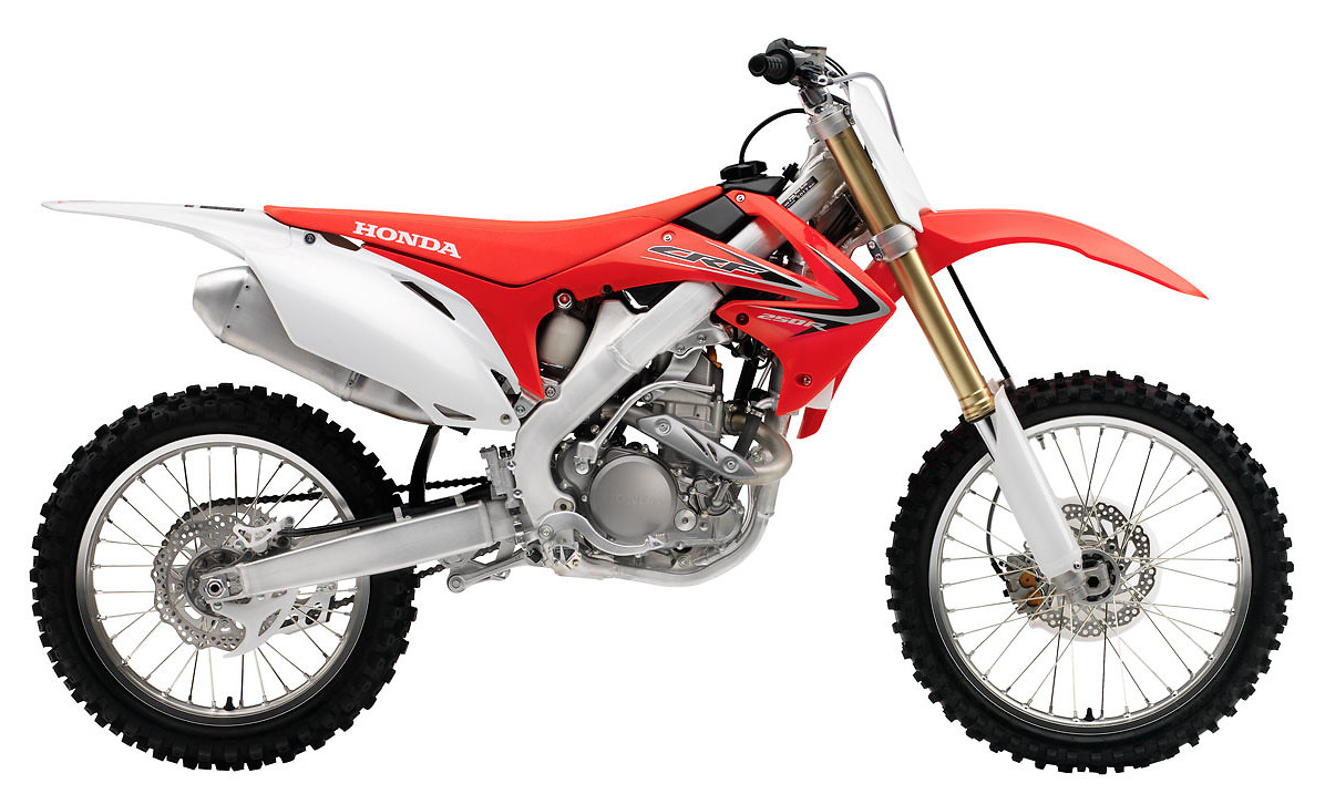 2012 Honda CRF250R  s1600_12_CRF250R_Red