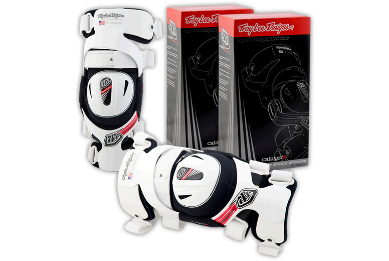Troy Lee Designs Catalyst X Knee Brace  12TLD_KNEEBRACE_SET