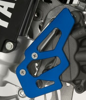 Yamaha GYTR Gytr Billet Front Brake Caliper Guard Blue  GYT-32C15-30-00_is