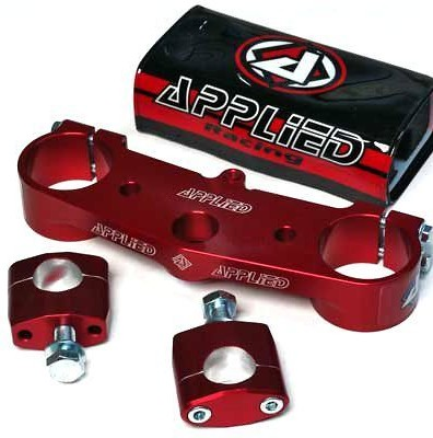 Applied Racing Wrap Top Clamp   APP-CL-CRF15-RD_is