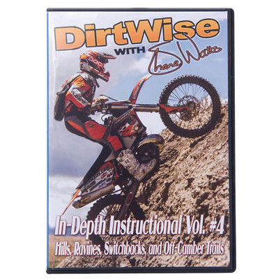 DirtWise Dirt Wise W/Shane Watts In Depth Instructional Dvd Vol #4  dir_13_dvd_wit_sha_wat_vol_4.jpg