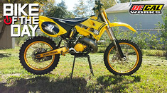 Bike of the Day: YZ360 Ohlins