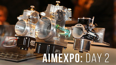 American International Motorcycle Expo - <br>AIME: Day 2