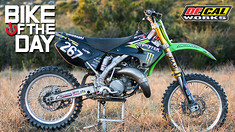 Bike of the Day: Alessandro Pagnotta's KX125