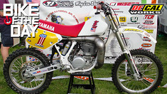 Bike of the Day: Rory O'Neill's 1989 YZ250/490W