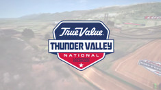 2015 Thunder Valley Motocross - Animated Track Map
