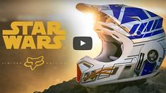 Fox Racing X Star Wars | V3 R2-D2 Limited Edition Helmet
