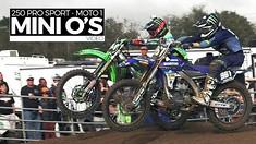 2015 Mini O's Motocross: 250 Pro Sport Moto 1 - MXPTV
